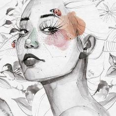 Ana Santos ilustra la feminidad en estado puro 7