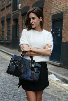 aces on that bag Gala (Junya Watanabe x Loewe). London.