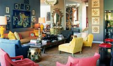 Where the Heart is! Blog - interieur mooie kleuren