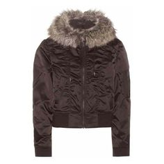 Yeezy Faux Fur-Trimmed Jacket (Season 1) (2 405 AUD) ❤ liked on Polyvore featuring outerwear, jackets, faux fur trim jacket, adidas originals and adidas originals jacket