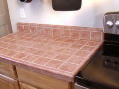 tile countertop - Kitchen Countertop Tile Ideas