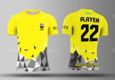 Fiverr freelancer will provide T-Shirts & Merchandise services and design jersey for esports,soccer, etc in 24 hours including Design concepts within 1 day Sport Shirt Design, Sports Jersey Design, Sport T Shirt, Team Shirts, Football Shirts, Game Logo Design, Shirt Template, Mascot Design, Custom T Shirt Printing