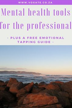 Mental health tools working professionals EFT tapping