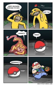 Dressing Up as Pikachu Might Not Be Such a Great Idea
