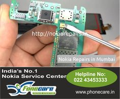 Right now you don't have to get worried, you have an Nokia Care Center service center in Goregaon and also all accross Mumbai. Dial on 022 4345 3333