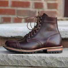 Truman boot co Color 8 chromexcel from horween tannery in chicago