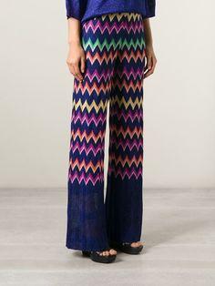 Missoni Trousers #crochet #trousers #missoni