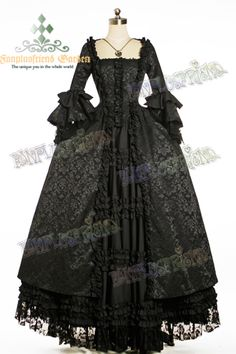 This is an aristocratic overdress that would need a long skirt under it.