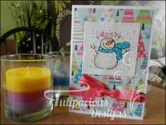 NEW!! frosty the snowman christmas card only £1.25 (plus P&P). many more designs available over at tulipacious designs x