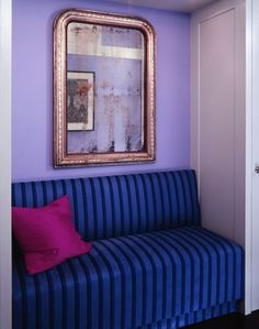intense and fab! Pared violeta