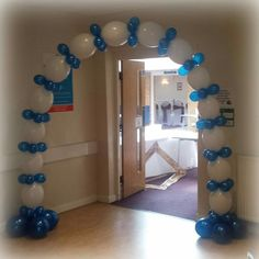This arch is easily transported in the back of your car and won't tangle! vipballoons.co.uk