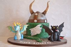 How to train your dragon cake By All About The Cake Pearland, Texas. Facebook.com/allaboutthecakehouston