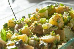 Potetsalat med dijonmajones og kapers | chezENGH