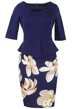 Wear To Work Dresses, V'SHOW Womens Fall Dresses For Work... https://www.amazon.com/dp/B01JWO0NBU/ref=cm_sw_r_pi_dp_x_jIFbybYHQYC6X