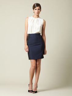 Need a dark blue pencil skirt.
