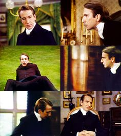 Alan Rickman - 1981 - as Obadiah Slope in the barchester Chronicles.