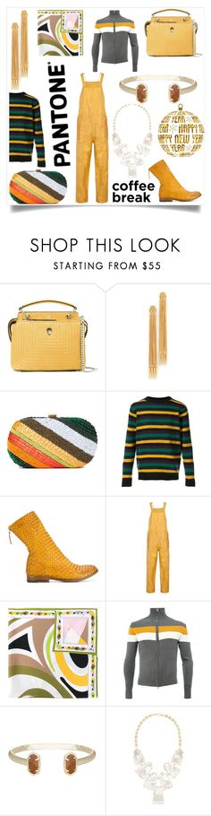 """Decide to be yourself"" by emmamegan-5678 ❤ liked on Polyvore featuring Fendi, Ben-Amun, Santi, The Elder Statesman, Sartori Gold, Isabel Marant, Emilio Pucci, Wales Bonner, Kendra Scott and modern"