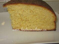 Delicioso pan de naranja con thermomix preparado con la receta que nos ha enviado una seguidora del blog.
