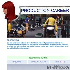 🎥MOVIE/FILM PRODUCTION CAREER🎥 This is my 3000... : MIDNITETECH'S SIMBLR