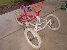 Adaptive Tadpole Trike