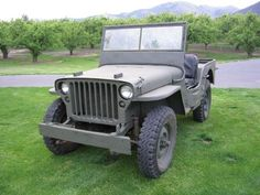 1942 Ford GPW  I have one of these but on steroids! :) ks