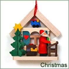 Awesome site with lots of wood toys! Erzgebirge Folk Art and traditional Christmas and holiday decorations from Germany