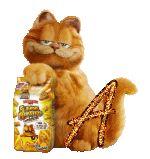 Alfabeto de Garfield con bolsa de galletitas.