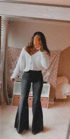 Country Style Outfits, Southern Outfits, Southern Style, Vintage Style Outfits, Teen Fashion Outfits, Fall Outfits, Cute Fashion, Fashion Clothes, Western Outfits Women