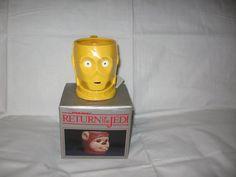 1983 Return Of The Jedi C-3PO Ceramic Mug