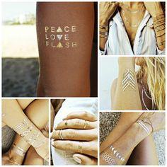 Flash Tattoos. LOVE IT!