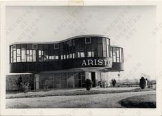 One of Marcel Breuer's lost masterpieces: The lucky clover shaped Parador Ariston in Mar del Plata, Buenos Aires, Argentina.
