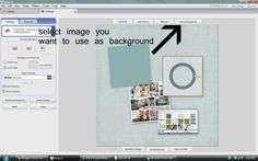 More Scrapbooking With Picasa: Using Digital Scrapbook Papers (For Your Blog Headers Too!)