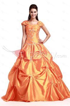 Elegant Sweetheart Sleeveless Floor-lenth Sandra's Quinceanera Dress