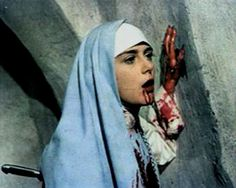 Still, from Satanico Pandemonium / Dir. Gilberto Martínez Solares, 1975 † #nun #movie #film #nunsploitation
