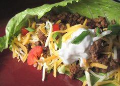 Low carb (or no carb) tacos