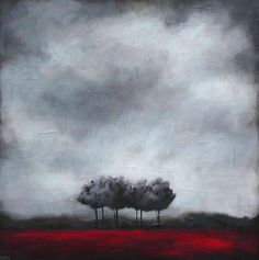 """Looking into the Grey Sky"" Grey Skies, Inspiring Art, Landscapes, Sky, Painting, Inspiration, Art, Paisajes, Heaven"