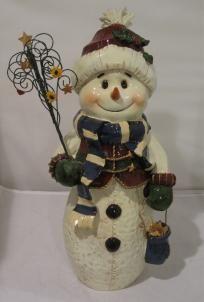 Snowman Decoration Snowman Decorations, Jar, Christmas Ornaments, Holiday Decor, Home Decor, Jars, Christmas Ornament, Interior Design, Home Interior Design