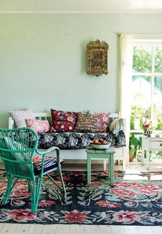 Interior stylist Selina Lake shows how to give homespun style a modern twist for a look that's quirky, colourful and gloriously eclectic.