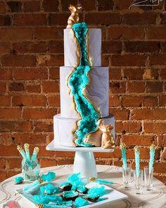 Ortaya çıkan pastalar tek kelimeyle mükemmel!