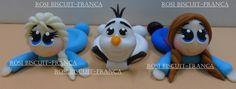 Porta docinho Ana frozen feito em biscuit <br>preço por unidade <br> <br>frete por conta do cliente <br> <br> <br> <br>produto artesanal sujeito a variações de cor e modelagem