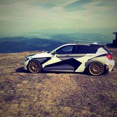 BMW 1 Series #carwrapping #wrap #vehicle #Inspiration #vehiclewrap…