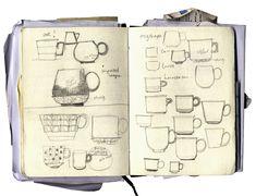sketch ceramic forms ideas