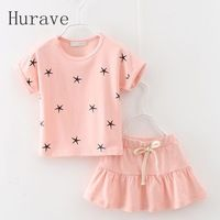 Cheap kids outfits, Buy Quality clothing sets directly from China suit children Suppliers: Hurave 2017 baby girls leisure clothes suit summer fashion dress suit children dress clothing sets kids outfits suit Fashion Kids, Baby Girl Fashion, Fashion Outfits, Costumes Jupe, Star Clothing, Clothing Sets, Girl Clothing, Summer Clothing, Baby Outfits
