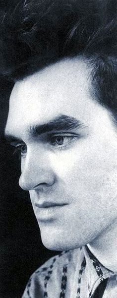Morrissey of The Smiths ― photo by Joelle Depont (1983).