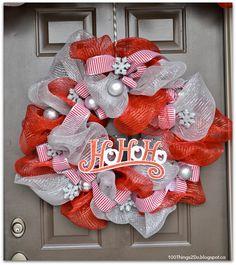 Deco Mesh Wreath - 100 Things 2 Do