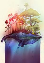 whale art - Google Search