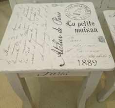 HIMLARUM - möbler shabby chic; wonderful blog with creative painted furniture!