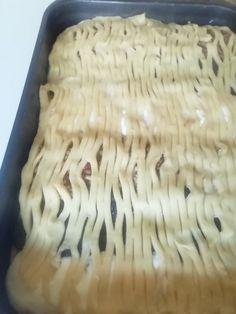 Jablkovo-tvarohovo-makový mrežovník (fotorecept) - recept   Varecha.sk Dairy, Pizza, Cheese, Food, Basket, Essen, Meals, Yemek, Eten