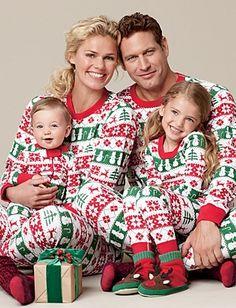 Long Johns for the whole family...I kinda want them.