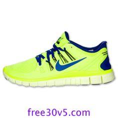 50% Off Nike Frees,Nike Free 5.0 Mens Volt Black Barely Volt Hyper Blue 579959 740 #Volt #Womens #Sneakers
